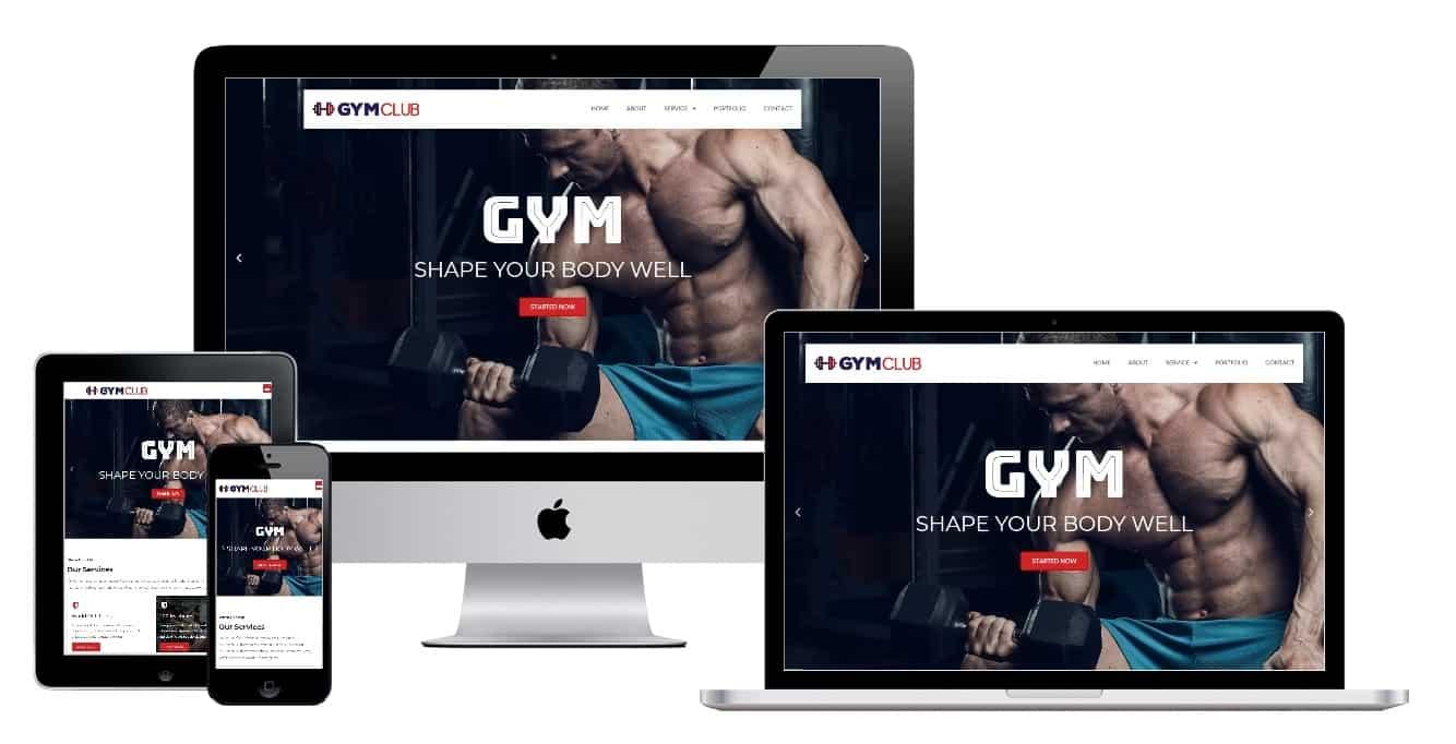 Gym Club Elementor Template